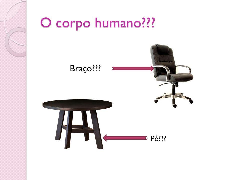 O corpo humano Braço Pé