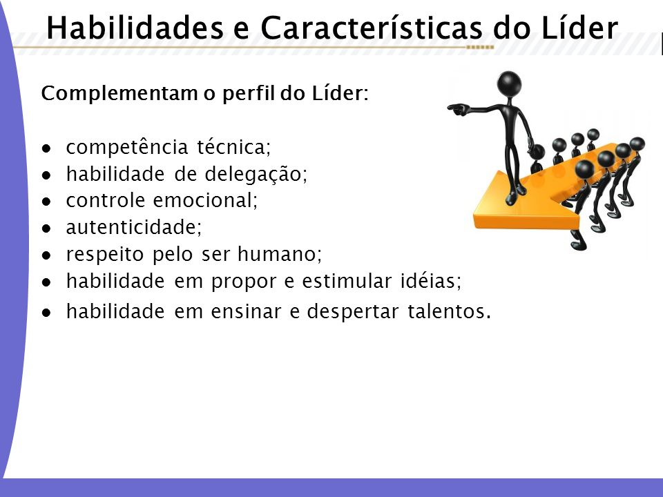 Habilidades e Características do Líder