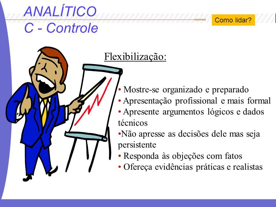 ANALÍTICO C - Controle Flexibilização: