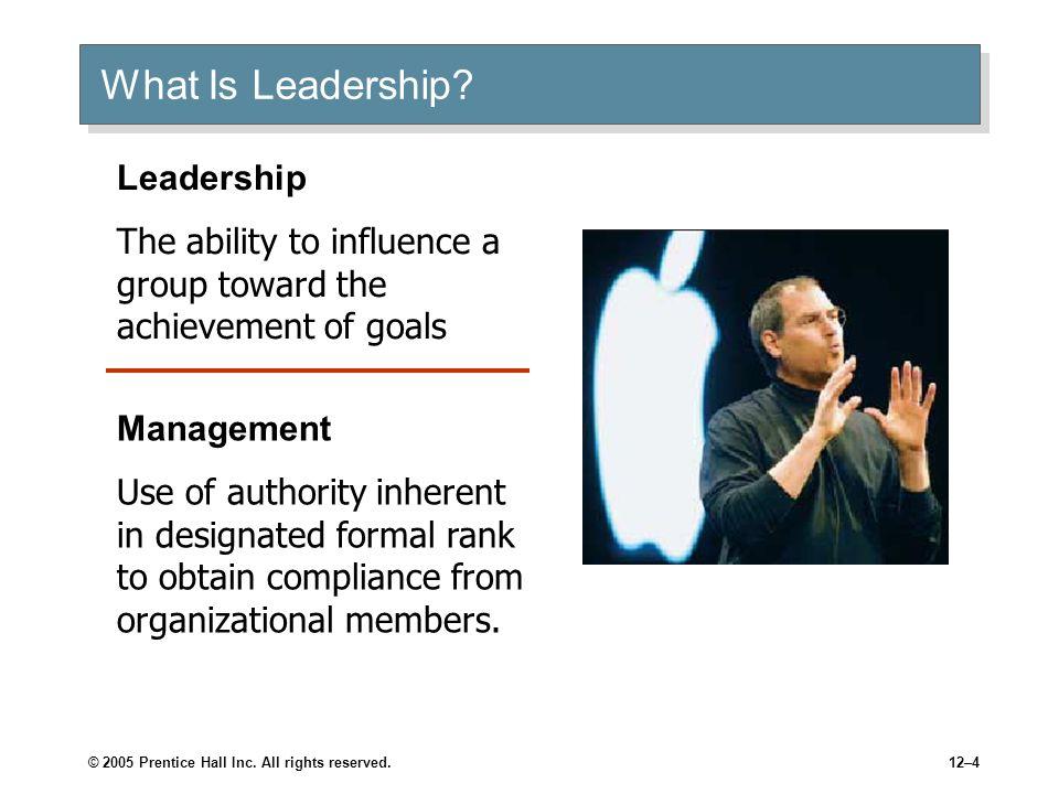 What Is Leadership Leadership