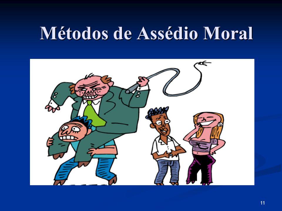 Métodos de Assédio Moral