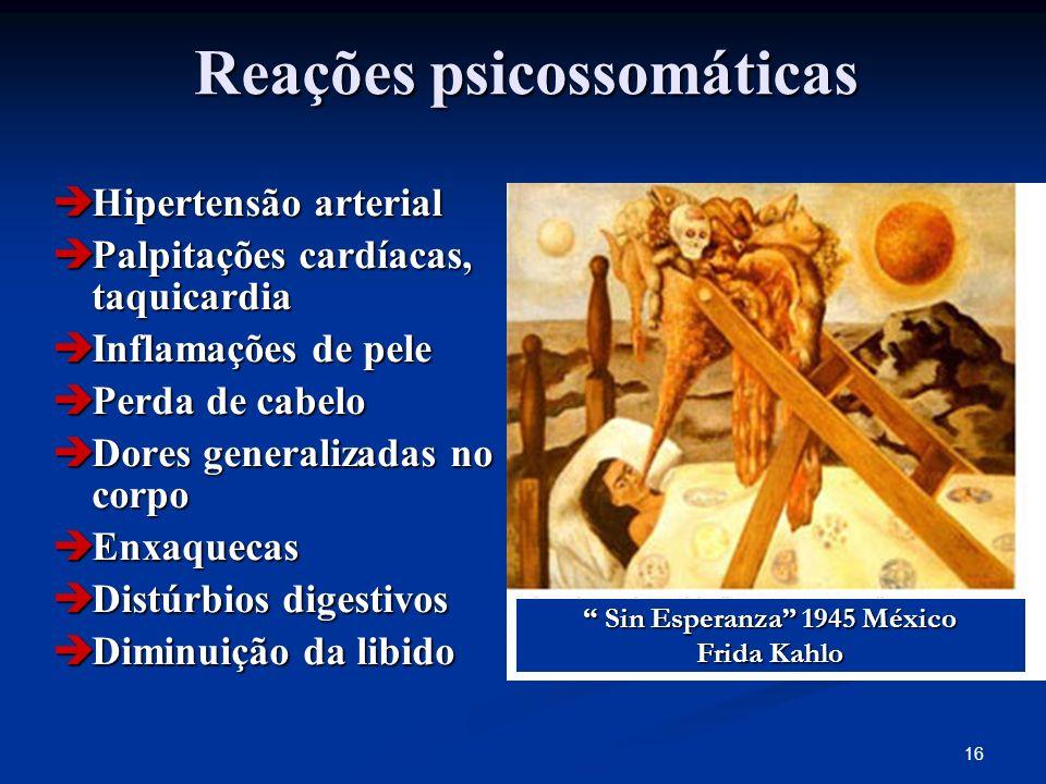 Reações psicossomáticas