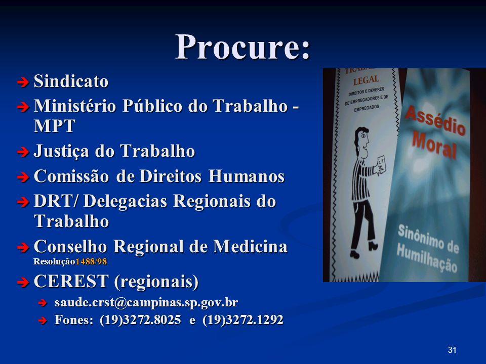 Procure: Sindicato Ministério Público do Trabalho - MPT