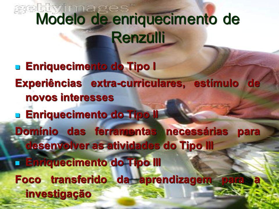 Modelo de enriquecimento de Renzulli