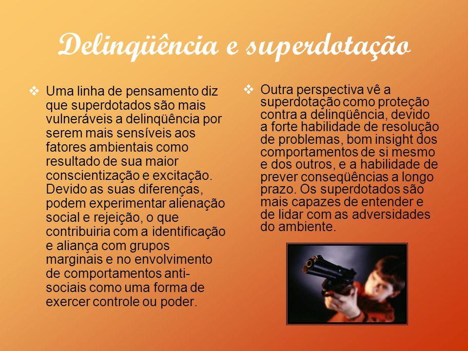 Delinqüência e superdotação