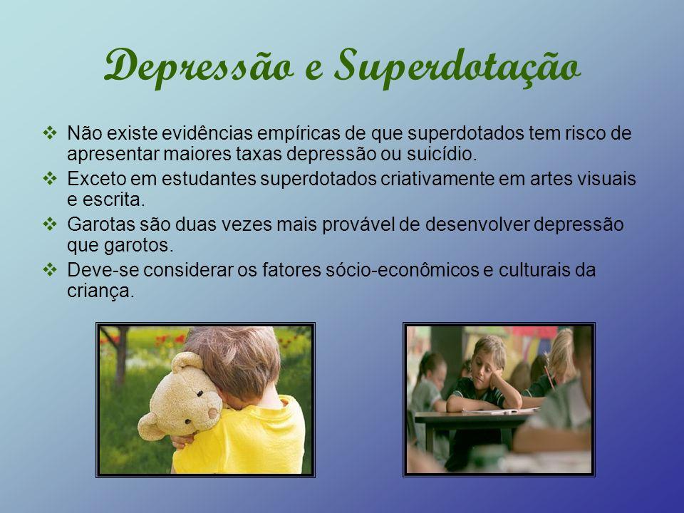 Depressão e Superdotação