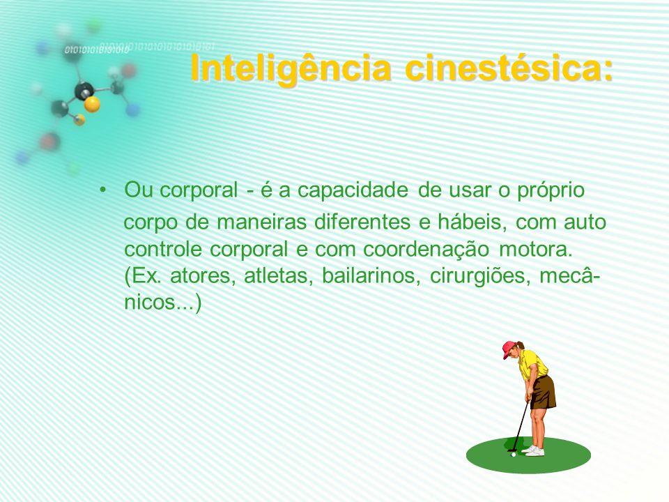 Inteligência cinestésica: