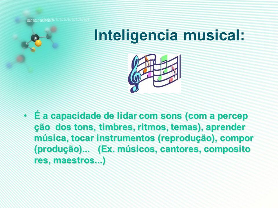 Inteligencia musical: