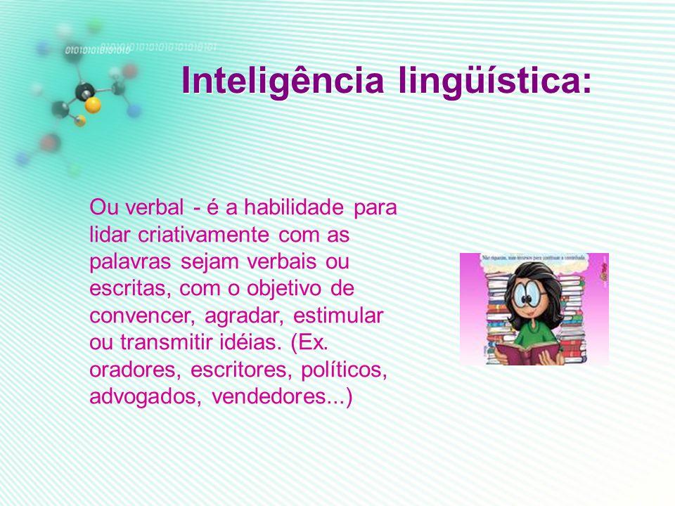 Inteligência lingüística: