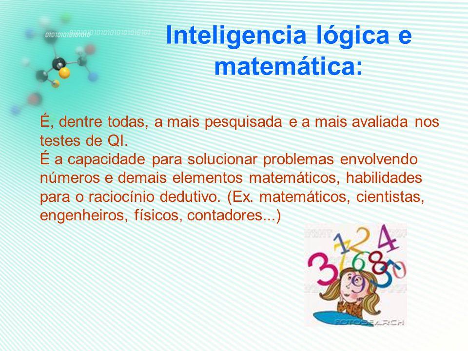 Inteligencia lógica e matemática: