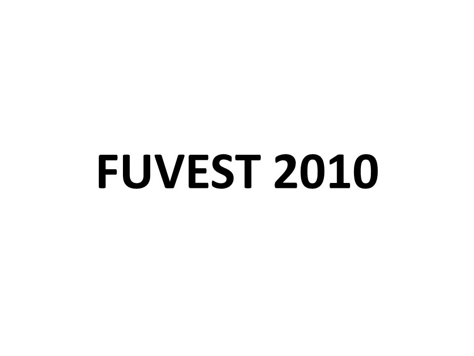 FUVEST 2010