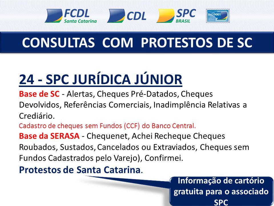 CONSULTAS COM PROTESTOS DE SC