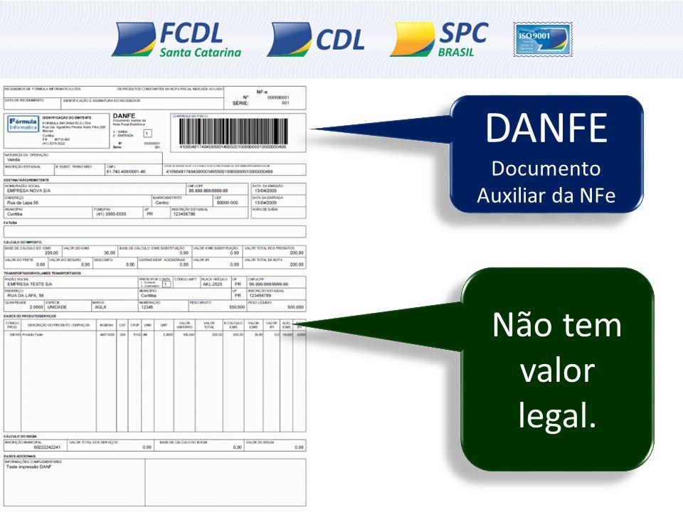Documento Auxiliar da NFe