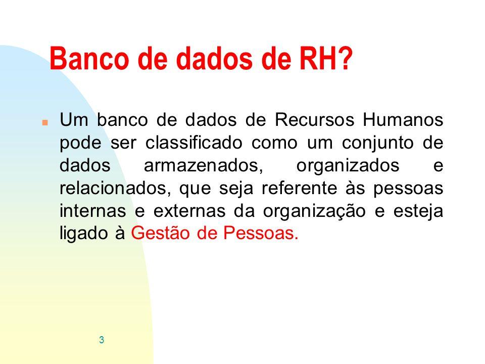 Banco de dados de RH