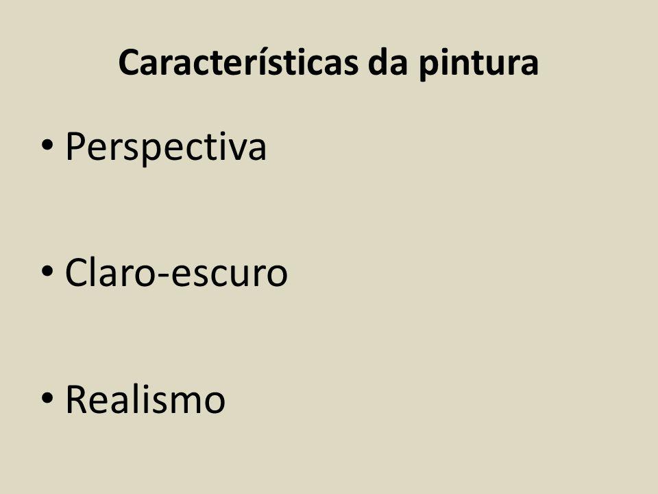 Características da pintura