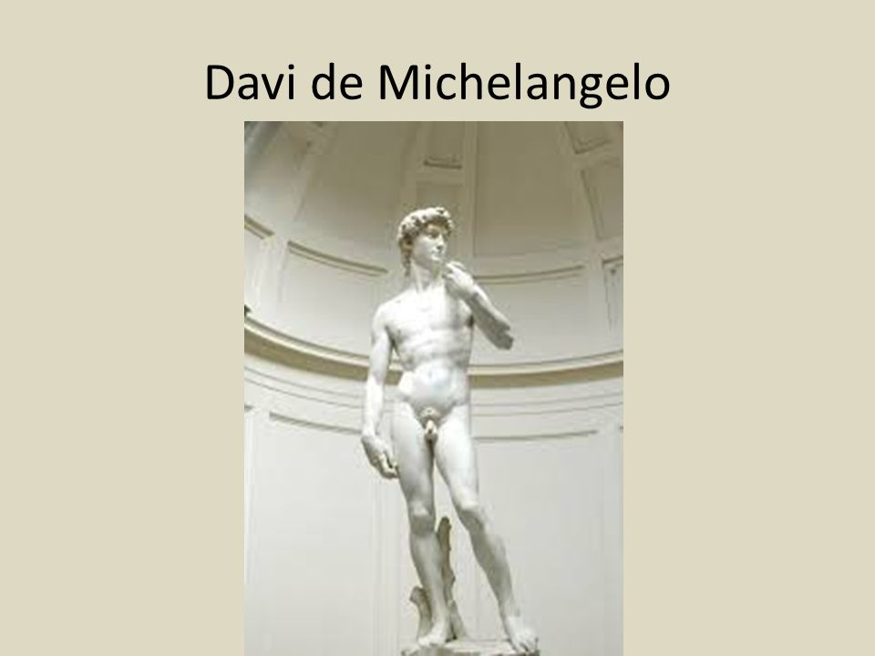 Davi de Michelangelo