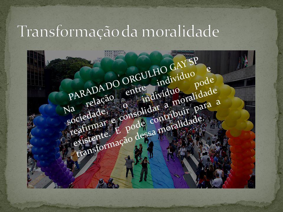 Transformação da moralidade
