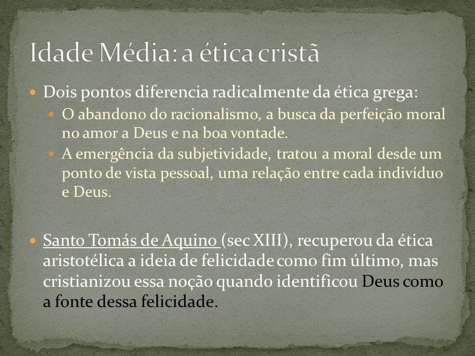 Idade Média: a ética cristã