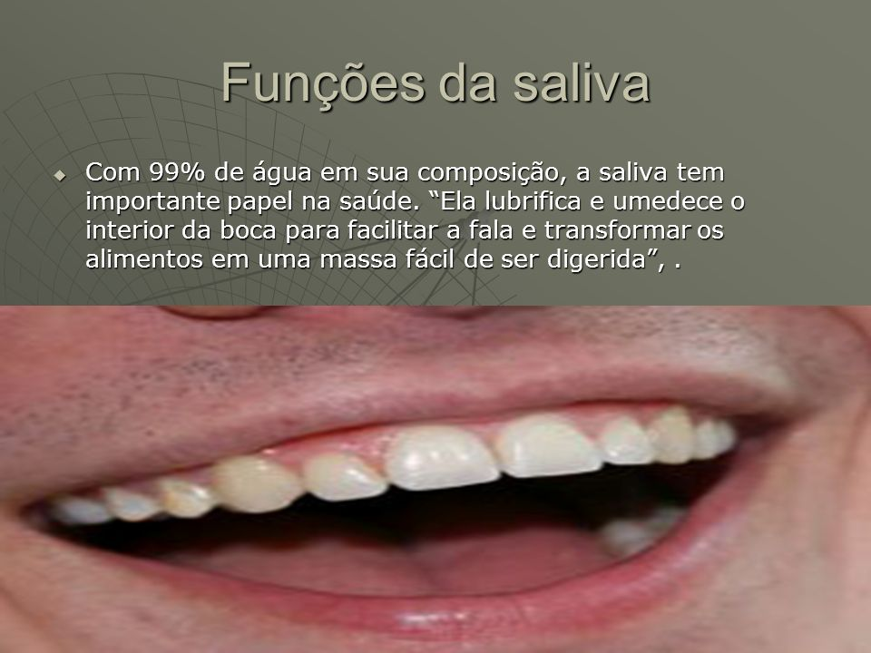 Funções da saliva