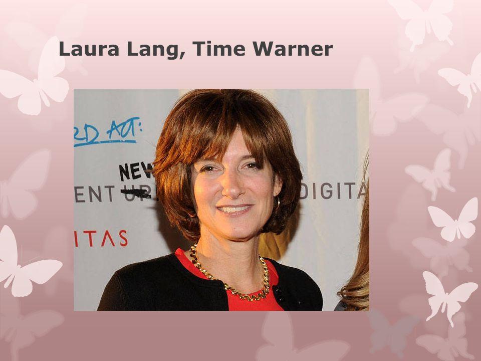 Laura Lang, Time Warner