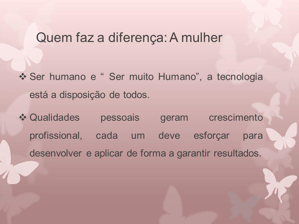 Quem faz a diferença: A mulher