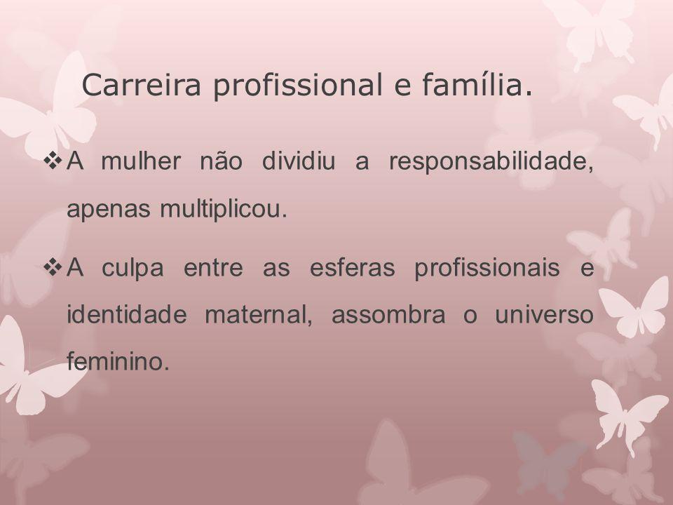 Carreira profissional e família.