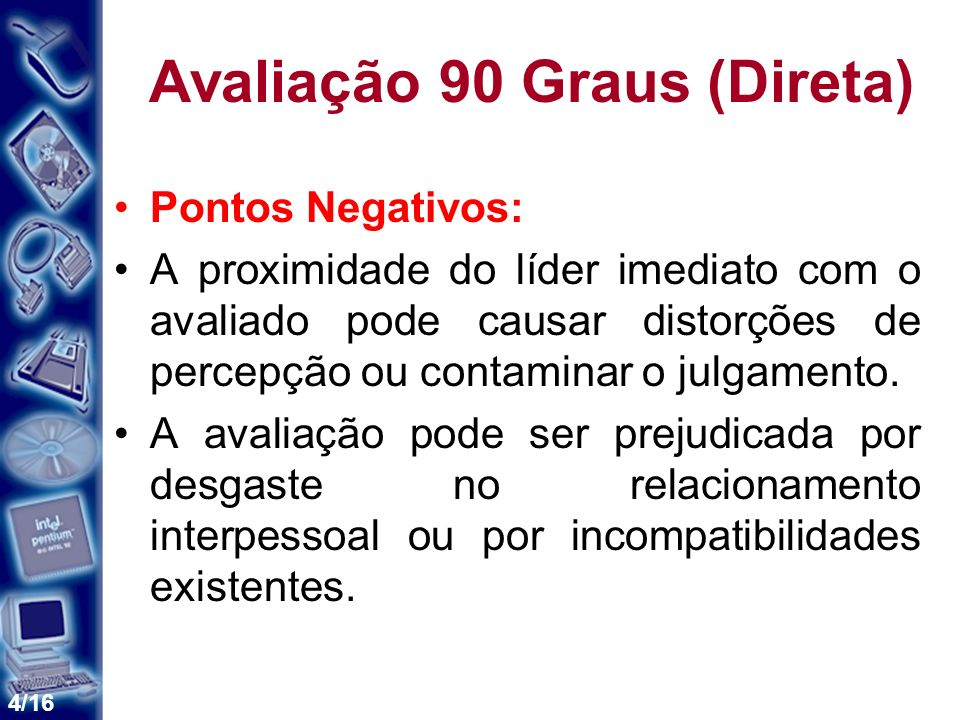 Avaliação 90 Graus (Direta)