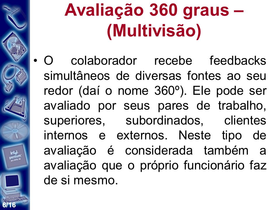 Avaliação 360 graus – (Multivisão)