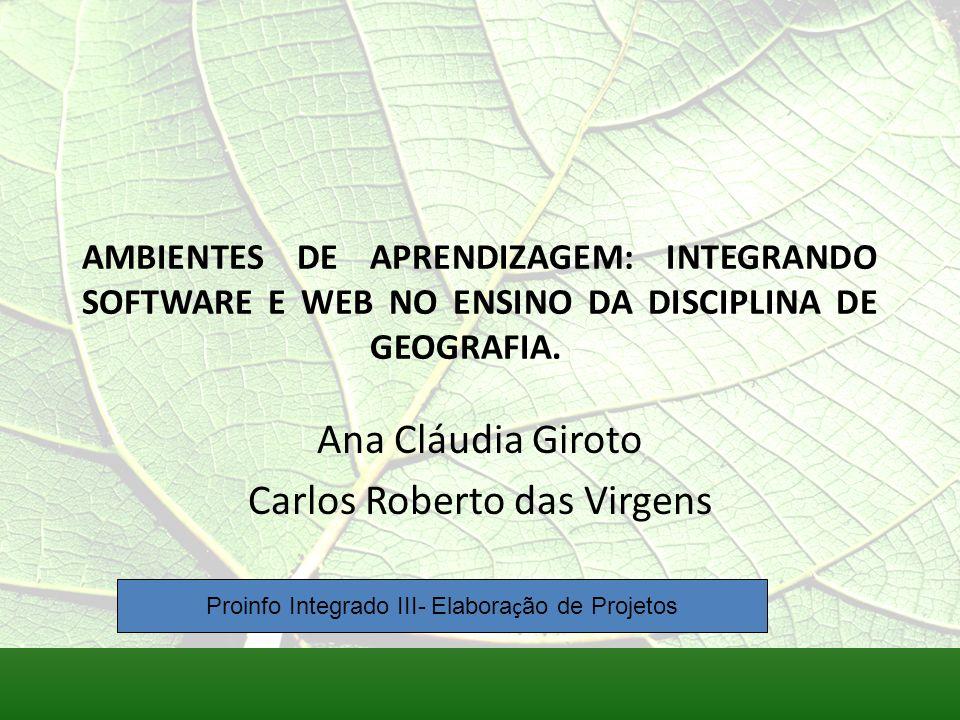 Ana Cláudia Giroto Carlos Roberto das Virgens