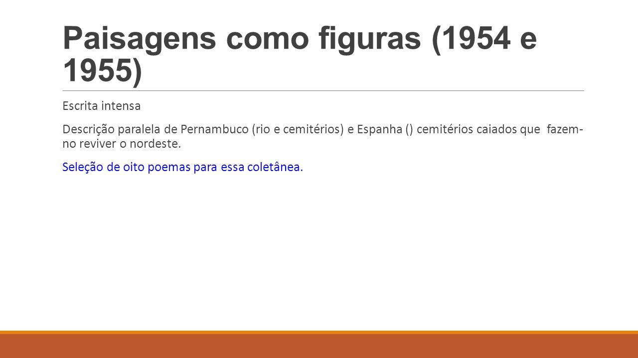 Paisagens como figuras (1954 e 1955)
