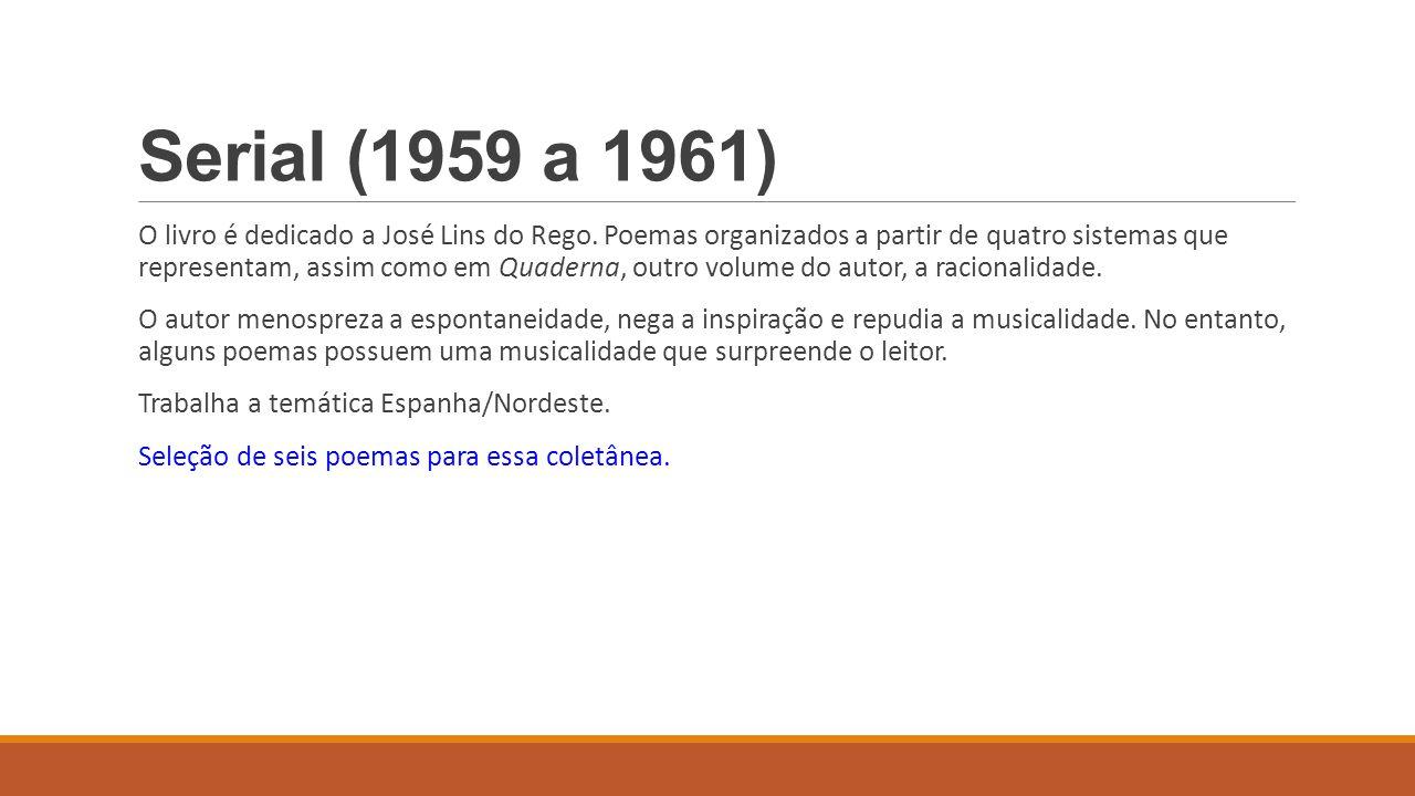 Serial (1959 a 1961)