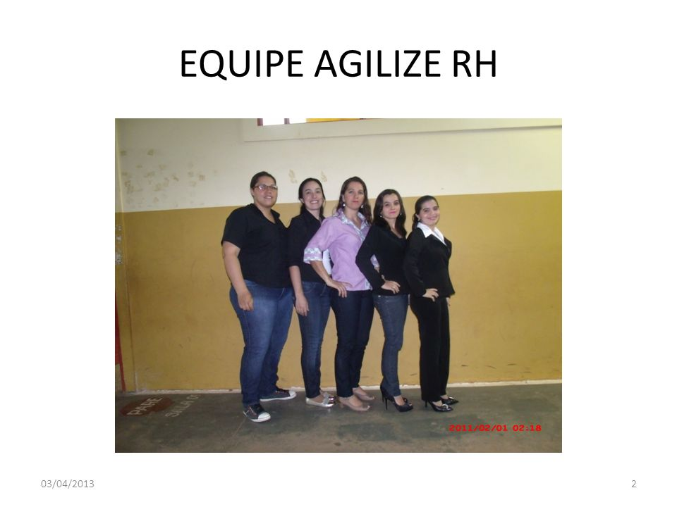 EQUIPE AGILIZE RH 03/04/2013
