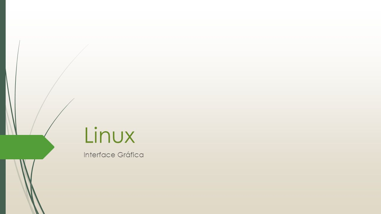 Linux Interface Gráfica