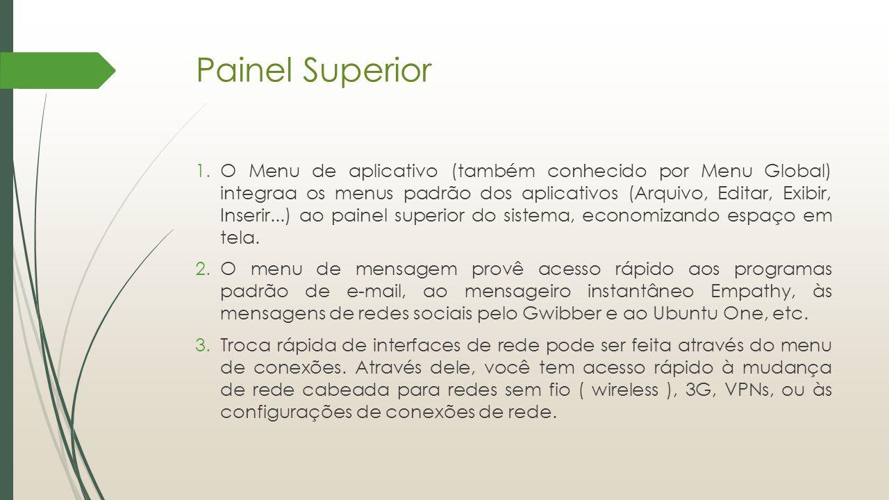 Painel Superior