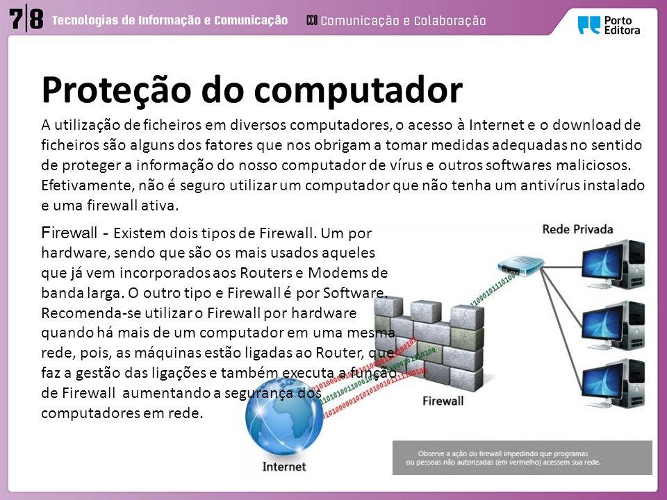 Proteção do computador