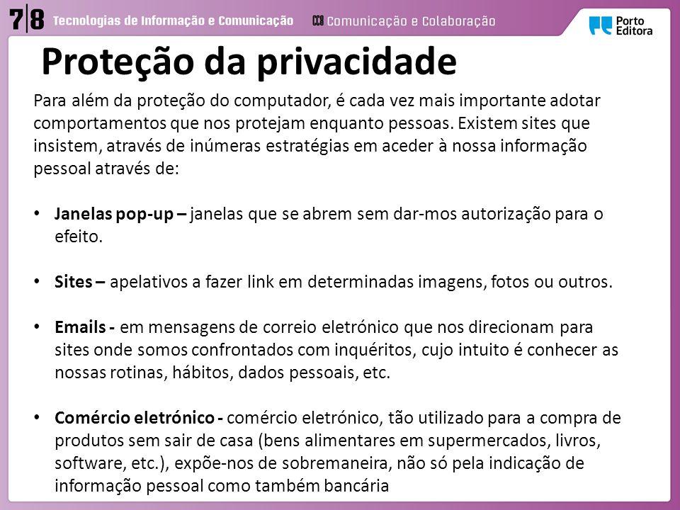 Proteção da privacidade