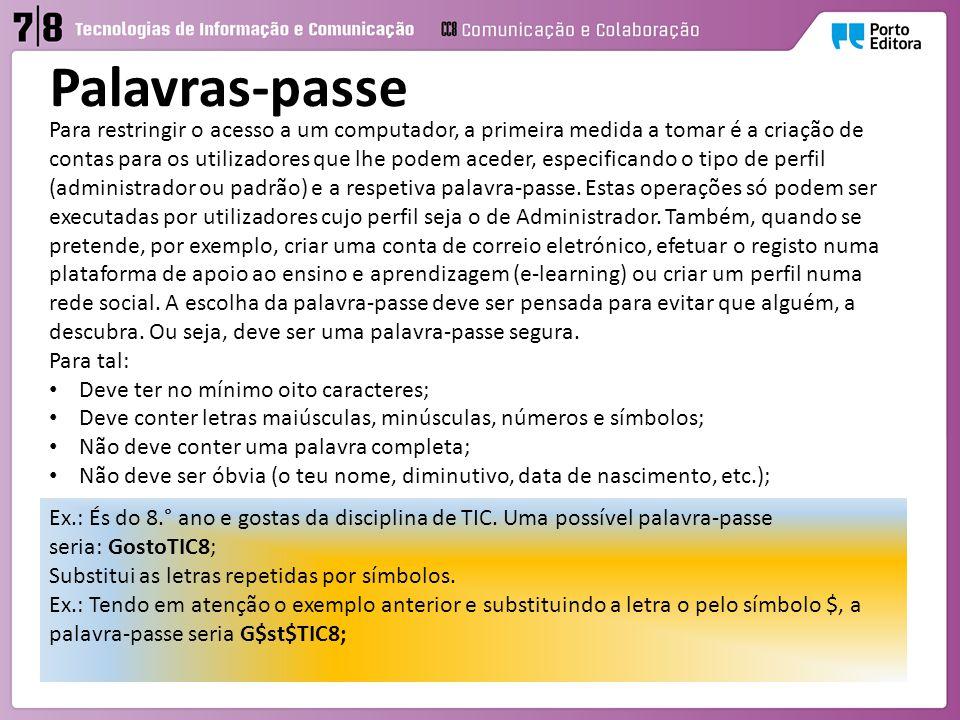 Palavras-passe