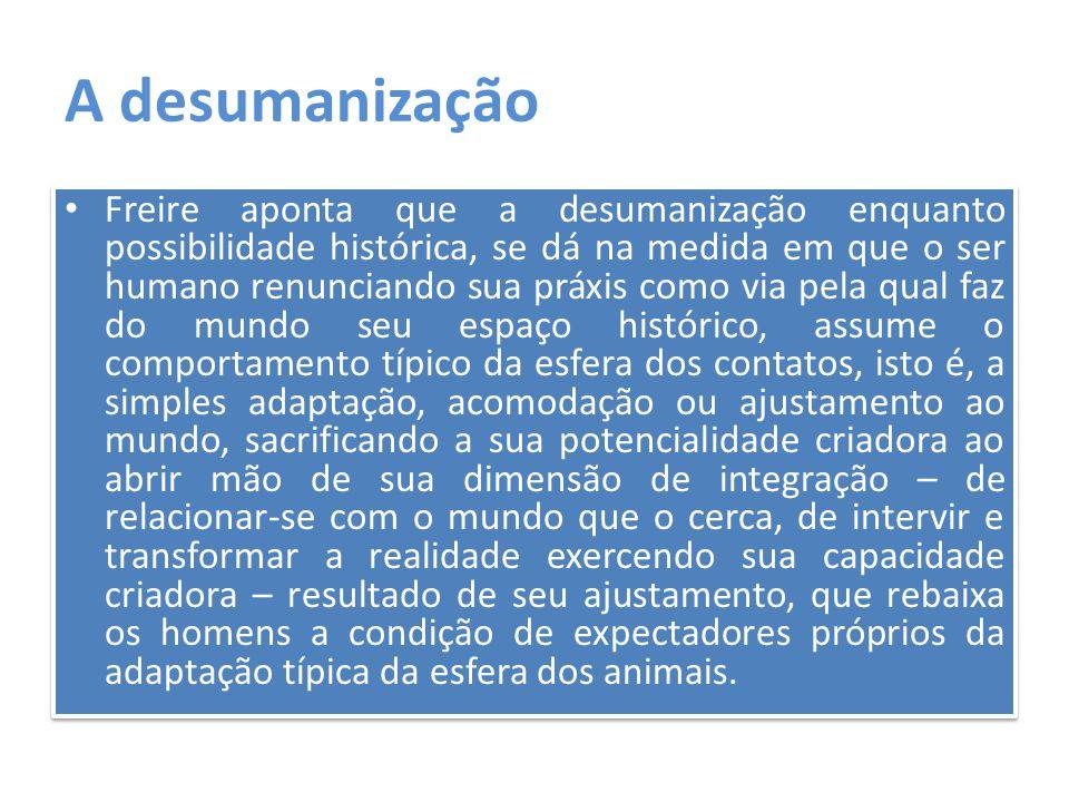 A desumanização