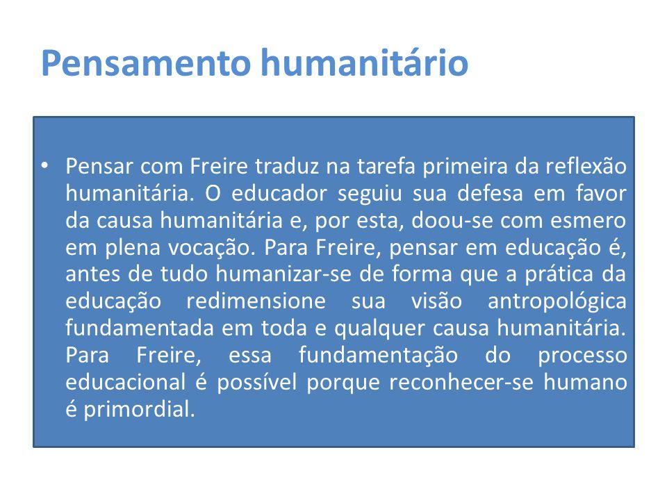 Pensamento humanitário