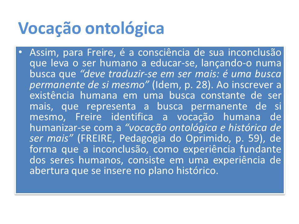 Vocação ontológica