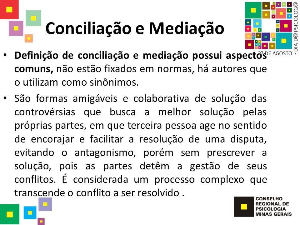 Conciliação e Mediação
