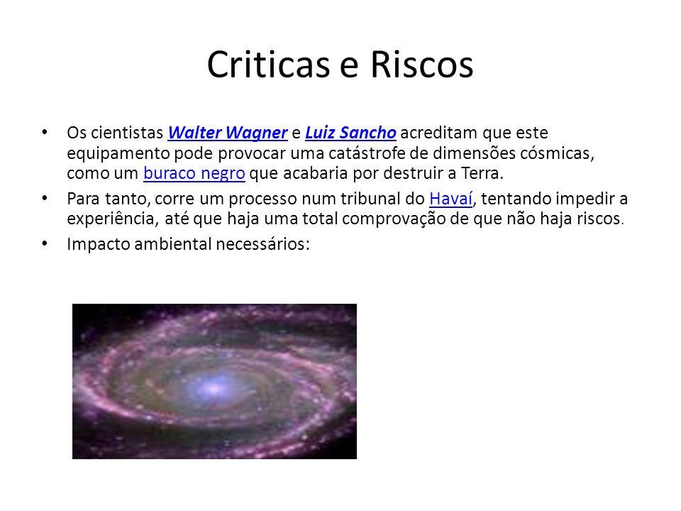 Criticas e Riscos