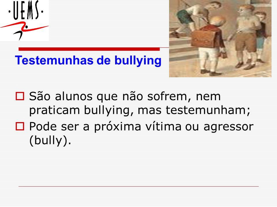 Testemunhas de bullying
