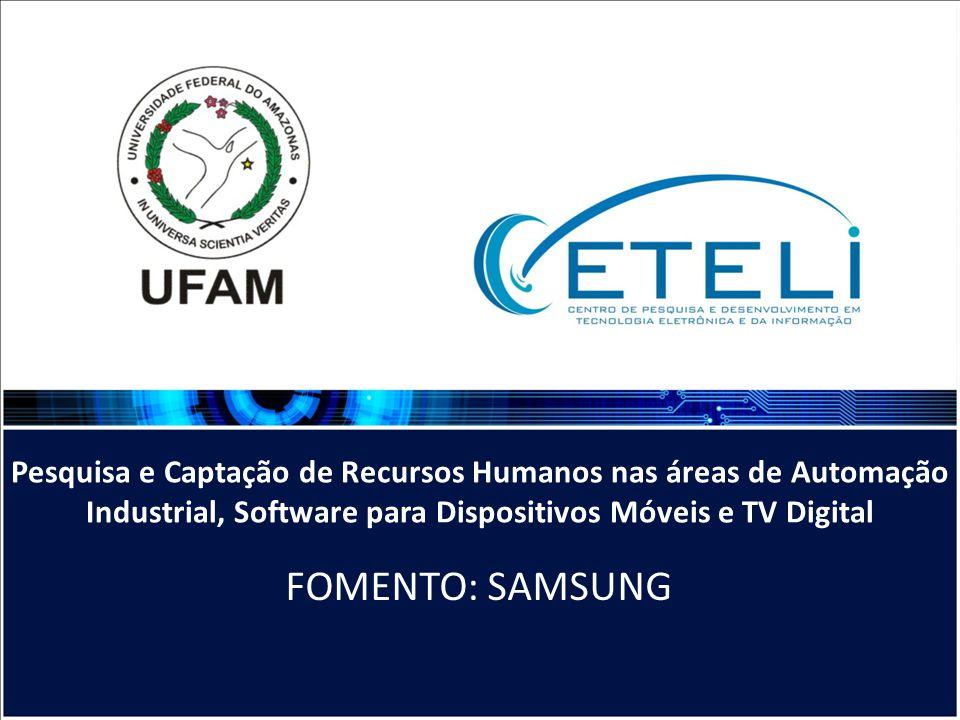 Pesquisa e Captação de Recursos Humanos nas áreas de Automação Industrial, Software para Dispositivos Móveis e TV Digital