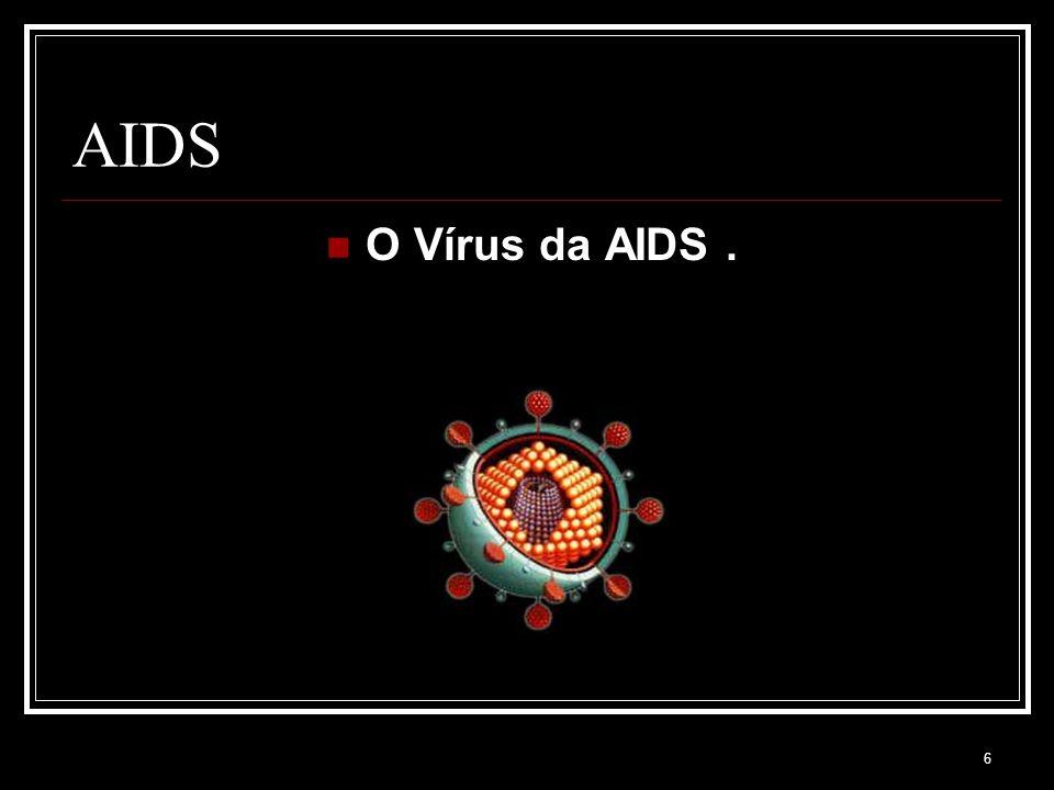 AIDS O Vírus da AIDS .