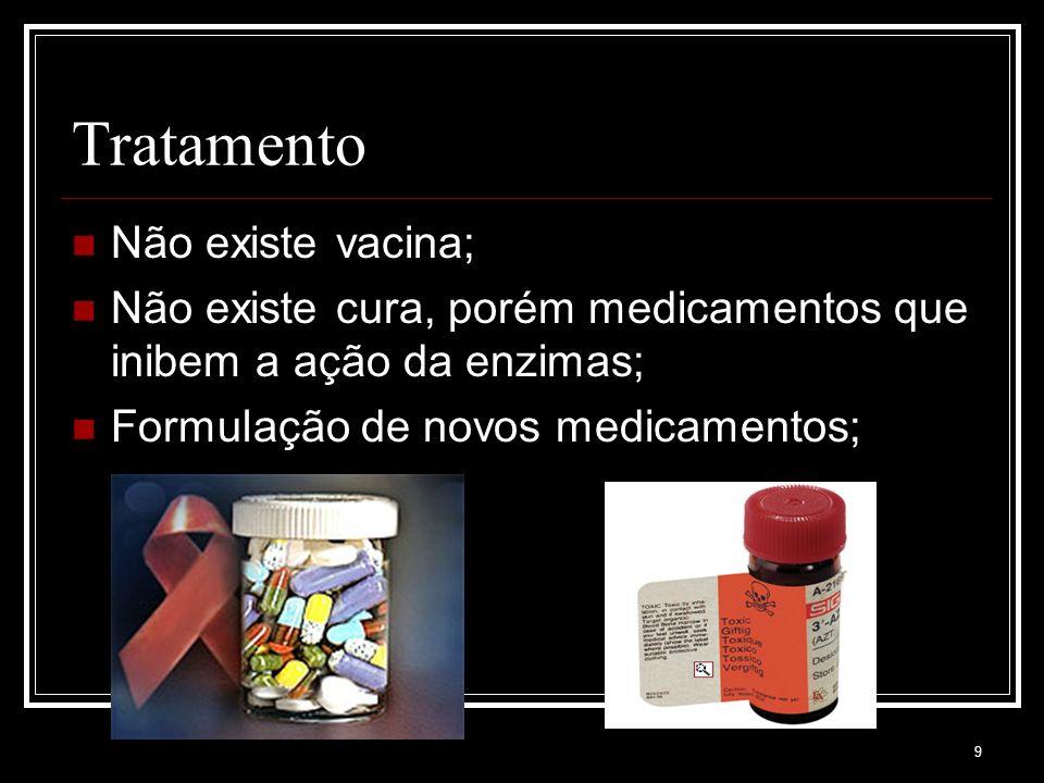 Tratamento Não existe vacina;