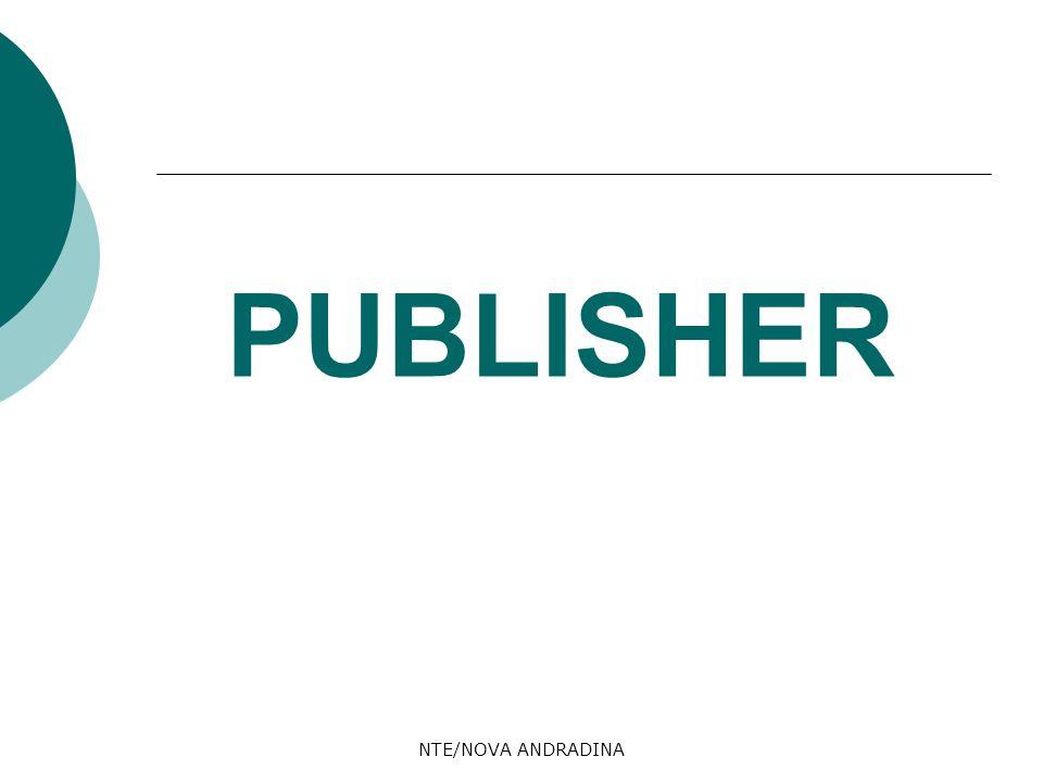 PUBLISHER NTE/NOVA ANDRADINA