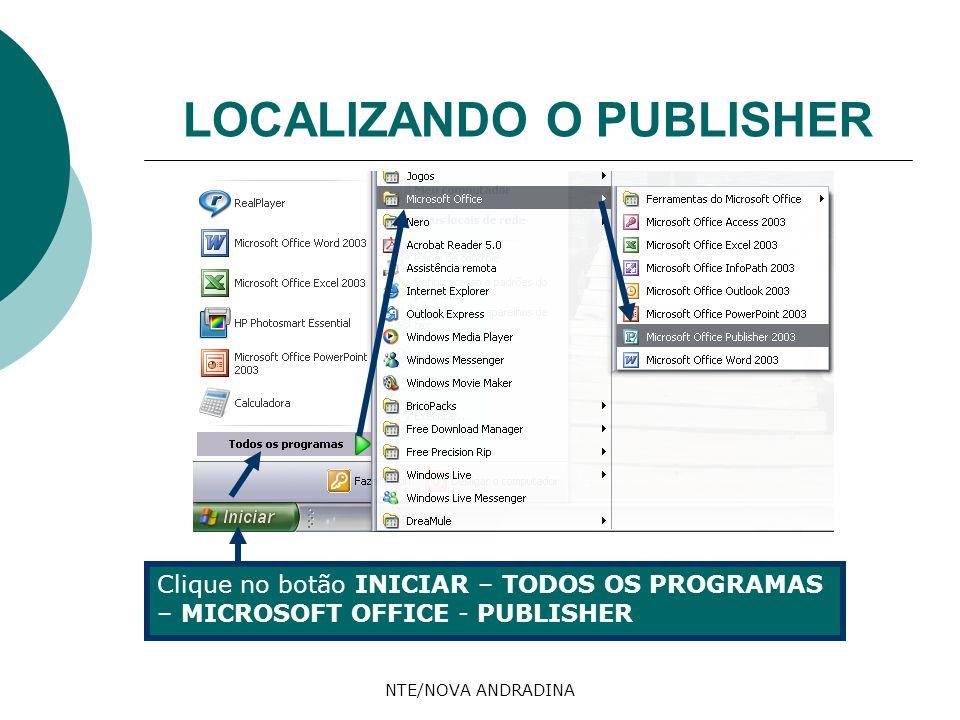 LOCALIZANDO O PUBLISHER