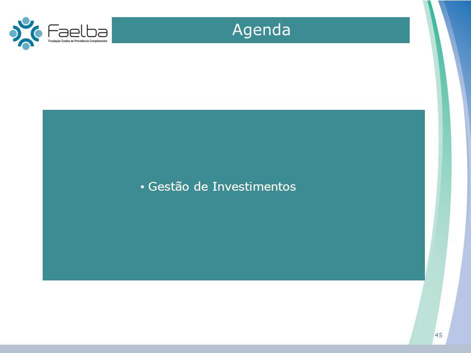 Agenda Gestão de Investimentos 45