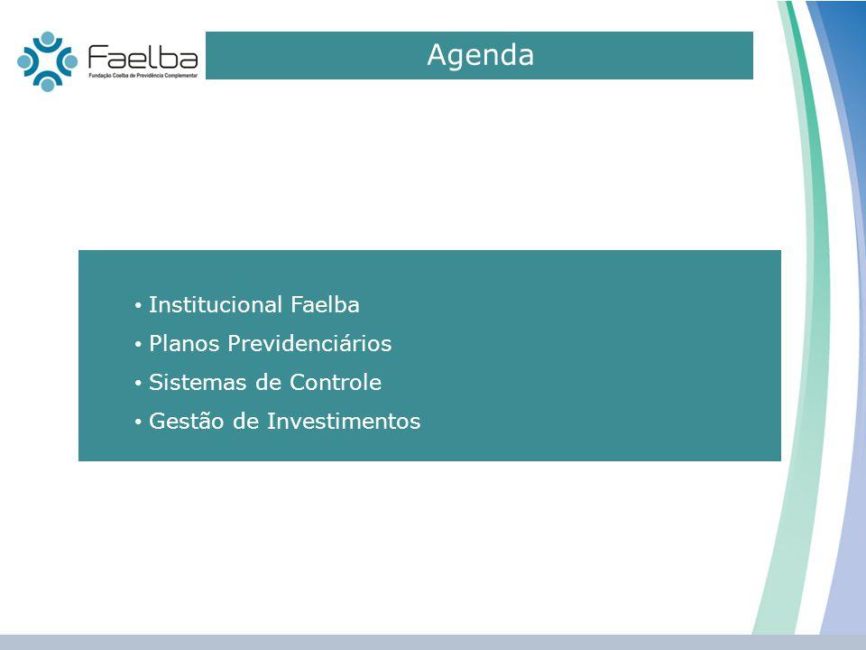 Agenda Institucional Faelba Planos Previdenciários